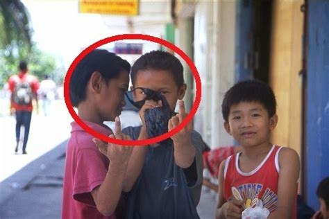 homeless kids huffing paint  borneo   facts store