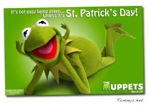 tommy2 net it s not easy being green happy st s day from the muppets hayley kiyoko and