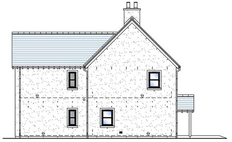 side elevation side elevation house type g snowdrop developments