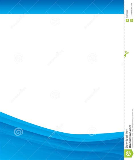 blue swirl brochure background stock illustration image