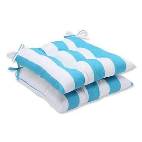 Patio Cushions Turquoise Cabana Stripe Turquoise Wrought Iron Outdoor Seat Cushion