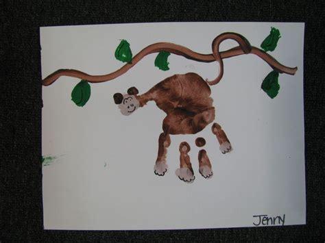 new year monkey handprint preschool monkey craft monkeys gorillas