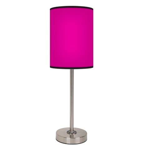 Accent Home Decor by Pink Lamp Free Shipping
