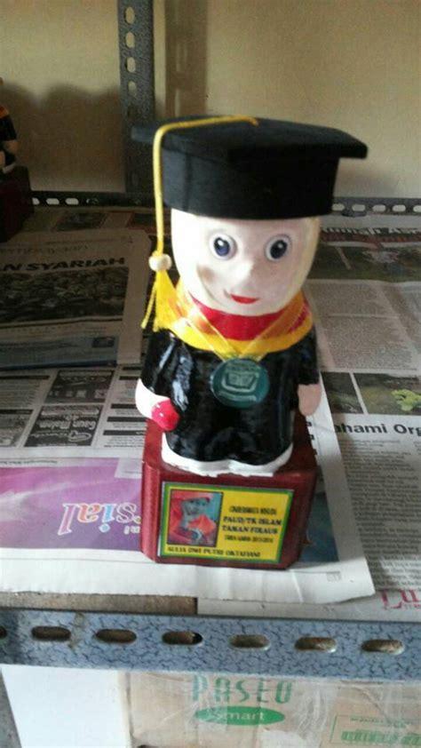 Boneka Wisuda Gypsum baju wisuda tk dan boneka wisuda tk