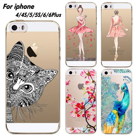 Iphone 6plus 6s Plus Flower Embossing Soft Silikon Casing Cover phone cover for iphone 4 4s 5 5s 6 6plus ultra soft