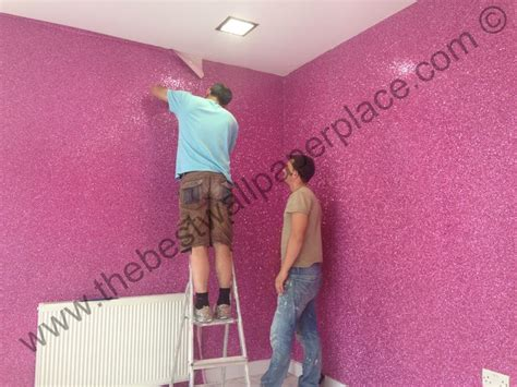 glitter wallpaper how to hang 17 best images about glitter walls floors on pinterest