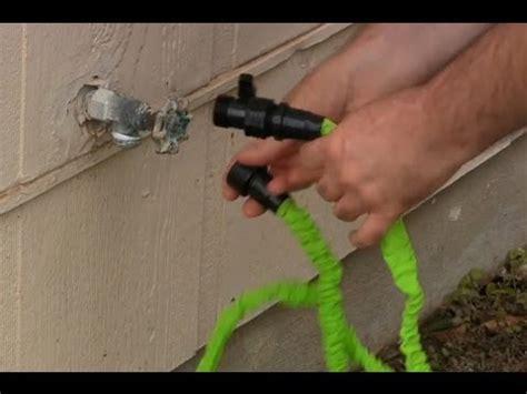 Ez Jet Water Cannon Unboxing expandable garden hose spray nozzle combo 50 foot doovi