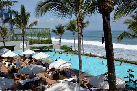 Espresso Sofa Table Potato Head Beach Club Beachfront Pool Drinks Dining At