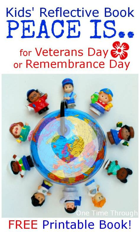 remembrance day picture books printable peace book for remembrance day veterans day