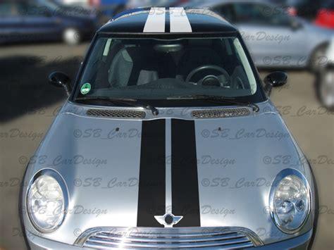 Streifen Aufkleber F R Auto by Viper Streifen Aufkleber Rally Stripes F Bmw Mini Cooper