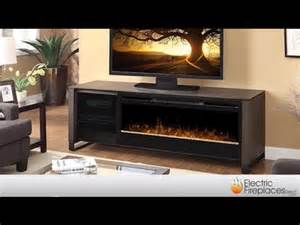 entertainment center with glass doors electric fireplace media center fireplace tv stand youtube