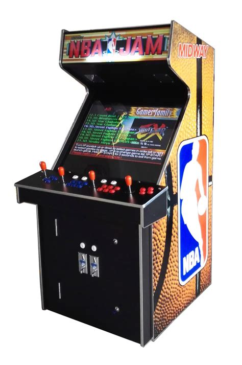 Mini Arcade 2019 In 1 by Arcade Rewind 3500 Upright Arcade Machine With Nba Jam
