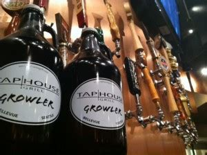 tap house bellevue the bellevue tap house grill offers growlers downtown bellevue network