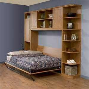 Horizontal Murphy Bed Frame Furniture Modern Size Wood Horizontal Murphy Bed