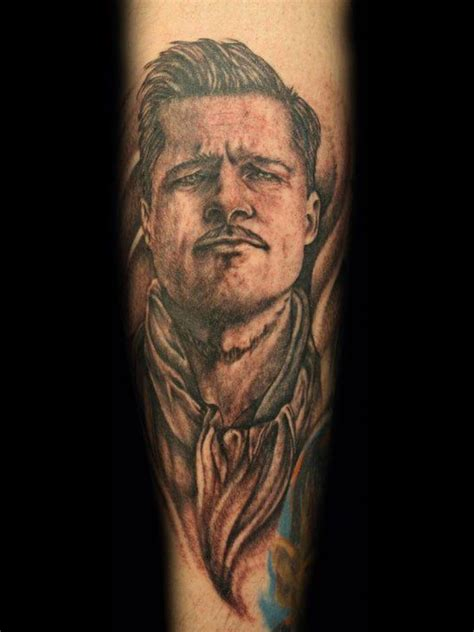 counts tattoo quot brad pitt quot quot inglourious basterds quot by dave lue yelp