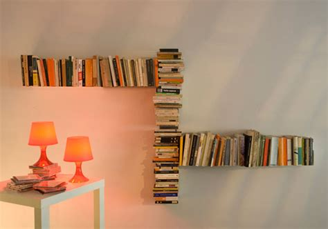 Invisable Shelf by Invisible Teebooks Shelving System By Mauro Canfori Home