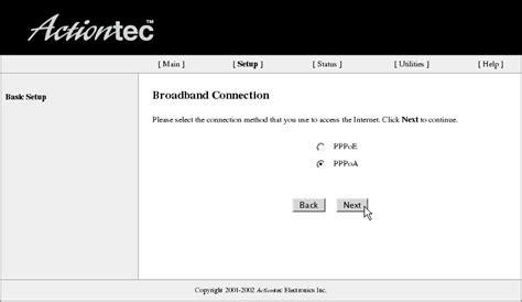 resetting wifi password centurylink dsl configuration actiontec router static ip
