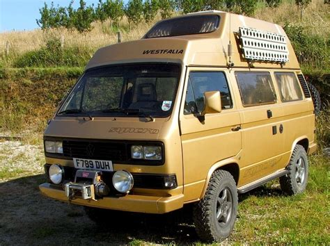 volkswagen westfalia syncro vw t3 syncro westfalia vw vans and cers pinterest