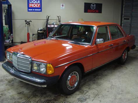 1978 Mercedes 300d by 1978 Mercedes 300d Diesel Orange On Palomino Classic
