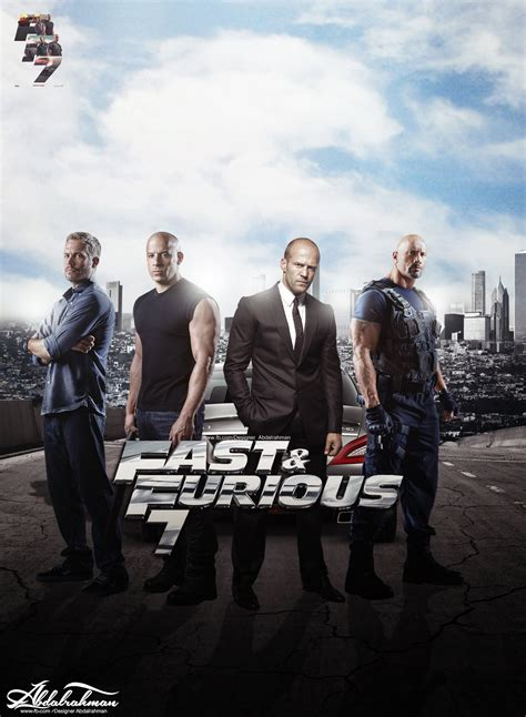 fast and furious 7 fast and furious 7 by designer abdalrahman on deviantart