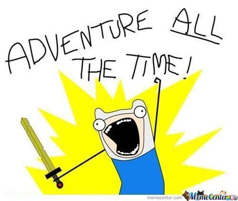 Adventure Meme - adventure time by skull meme center