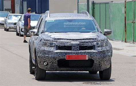 renault duster 2019 2019 dacia duster spied for the first time prototype