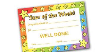 Of The Week Certificate Template by 8 Best Images Of Of The Week Certificate Of
