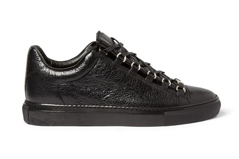balenciaga arena sneakers balenciaga arena creased leather sneakers hypebeast