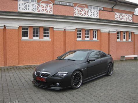 bmw m6 matte black the giugiardi design matte black bmw m6 with hamann styling