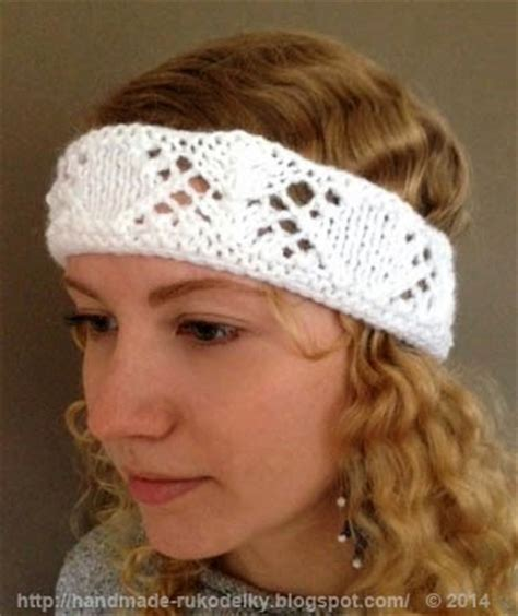 knitting pattern writing software hand made rukodelky knitted headband for youth free