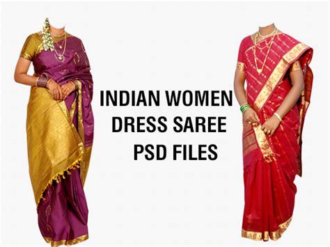 saree templates for photoshop indian woman saree psd file