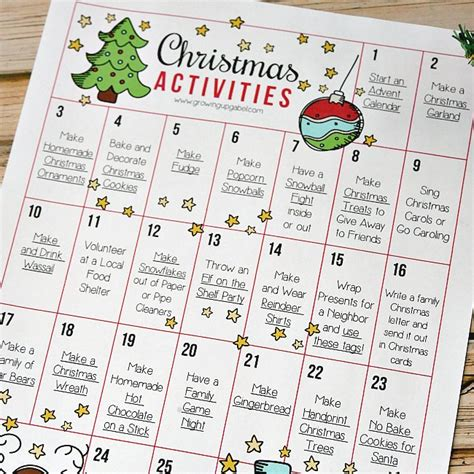 christmas activities for kids 25 activities for to make memories