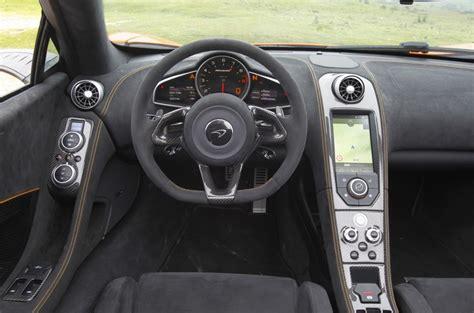 mclaren supercar interior mclaren 650s spider interior autocar