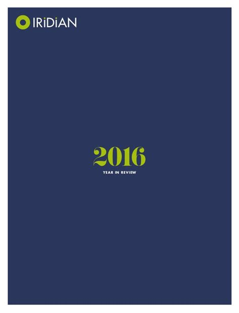 2016 Annual Report by 2016 Annual Report