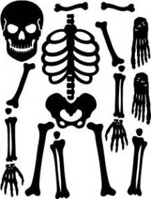 skeleton costume template silhouette pattern iron on for costume print
