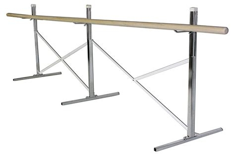 wall mounted double ballet barre wall mounted double ballet bars that are height adjustable