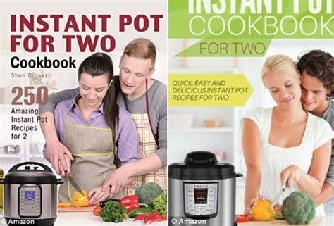 instant pot for two cookbook easy to follow most delicious superfast healthy recipes for two books instant pot cooking for two covers spark outrage