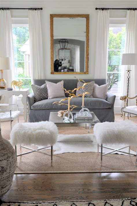 Mirror Living Room Tables Mirror Coffee Table Contemporary Living Room Sally Wheat Interiors