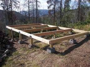 storage shed foundation blocks dan pi