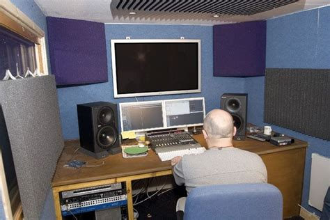 Small Home Studio Acoustic Treatment Pin By E Home Recording Studio On Acoustic Treatment For