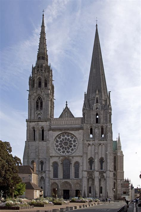 Romanesque Church Floor Plan by Chartres Cathedral Wikipedia