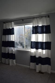 Ikea Nursery Curtains Diy Striped Painted Curtains Matching Wall Color For The Home Wall Colors
