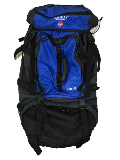 magellan sportswear summit large hiking cing pack backpack with cover ebay
