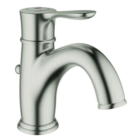 grohe bathtub faucets grohe parkfield single hole single handle bathroom faucet