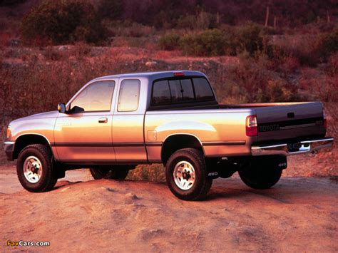 how cars work for dummies 1995 toyota t100 interior lighting toyota t100 xtracab 4wd 1995 98 wallpapers 800x600