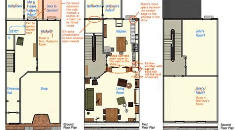 221b baker street floor plan 221b baker street plans 02 by folha5eca on deviantart