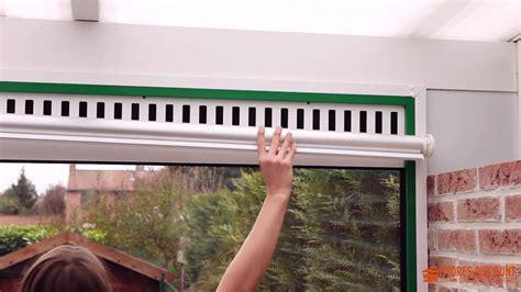 veranda per cer pose d un store enrouleur dans une v 233 randa comment faire