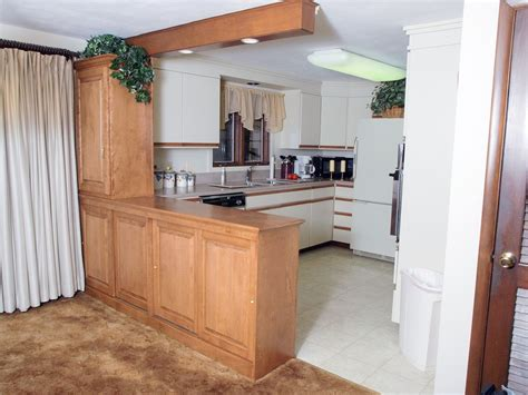 Kitchen With Breakfast Bar Designs handmade room divider system by custom furniture design