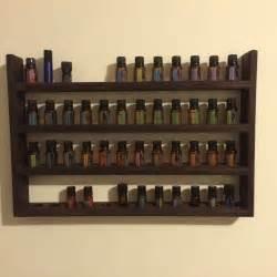 essential oils wall shelf