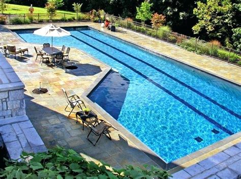 lap pool cost cost of inground lap pool round designs